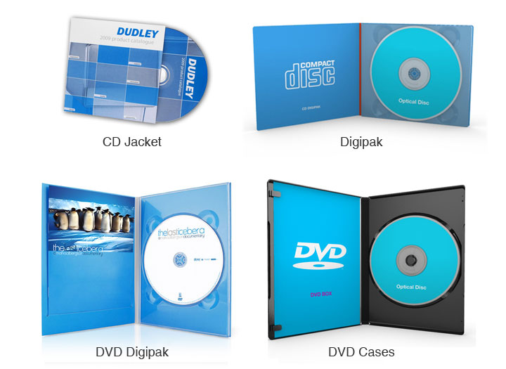 CD DVD Duplication & Printing Services
