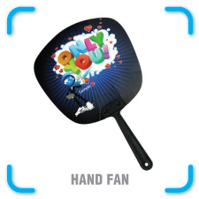 Promotional PVC Hand Fan Printing Promotion