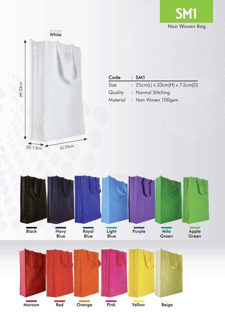 SM1 Non Woven Bag Printing Services