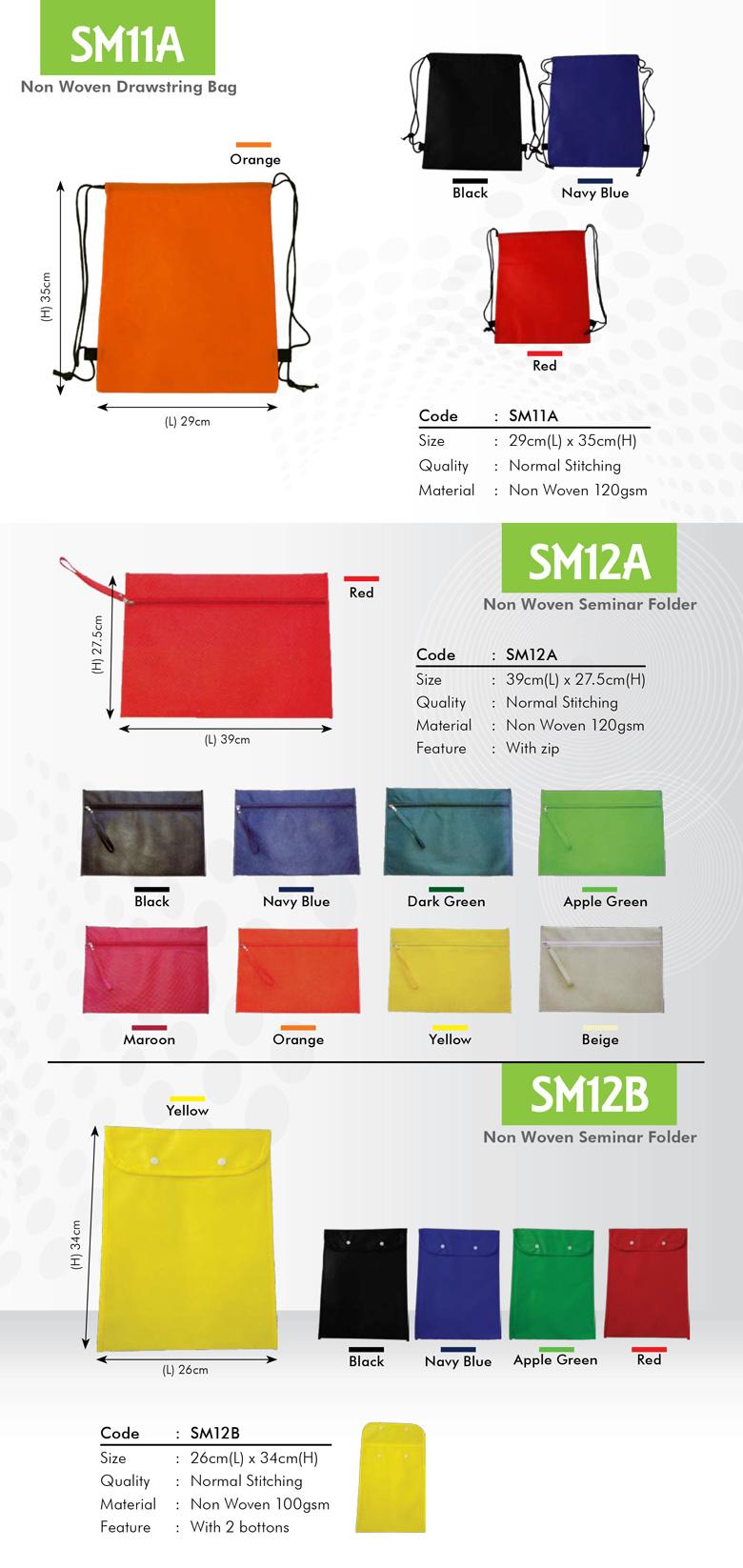 Non Woven Seminar Folder Printing Services