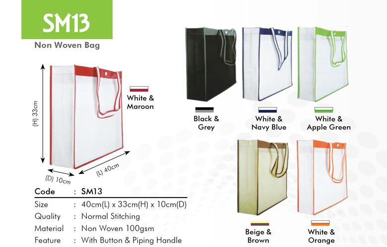 SM13 Non Woven Bag Printing Services