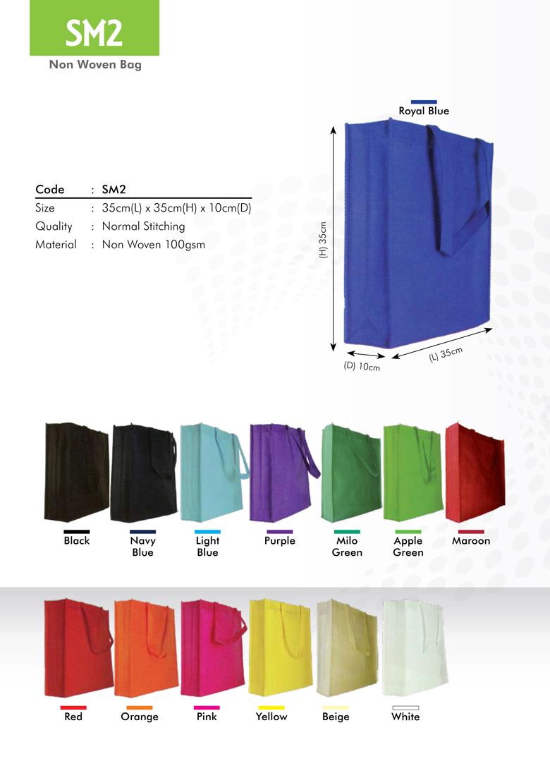 SM2 Non Woven Bag Printing Serices