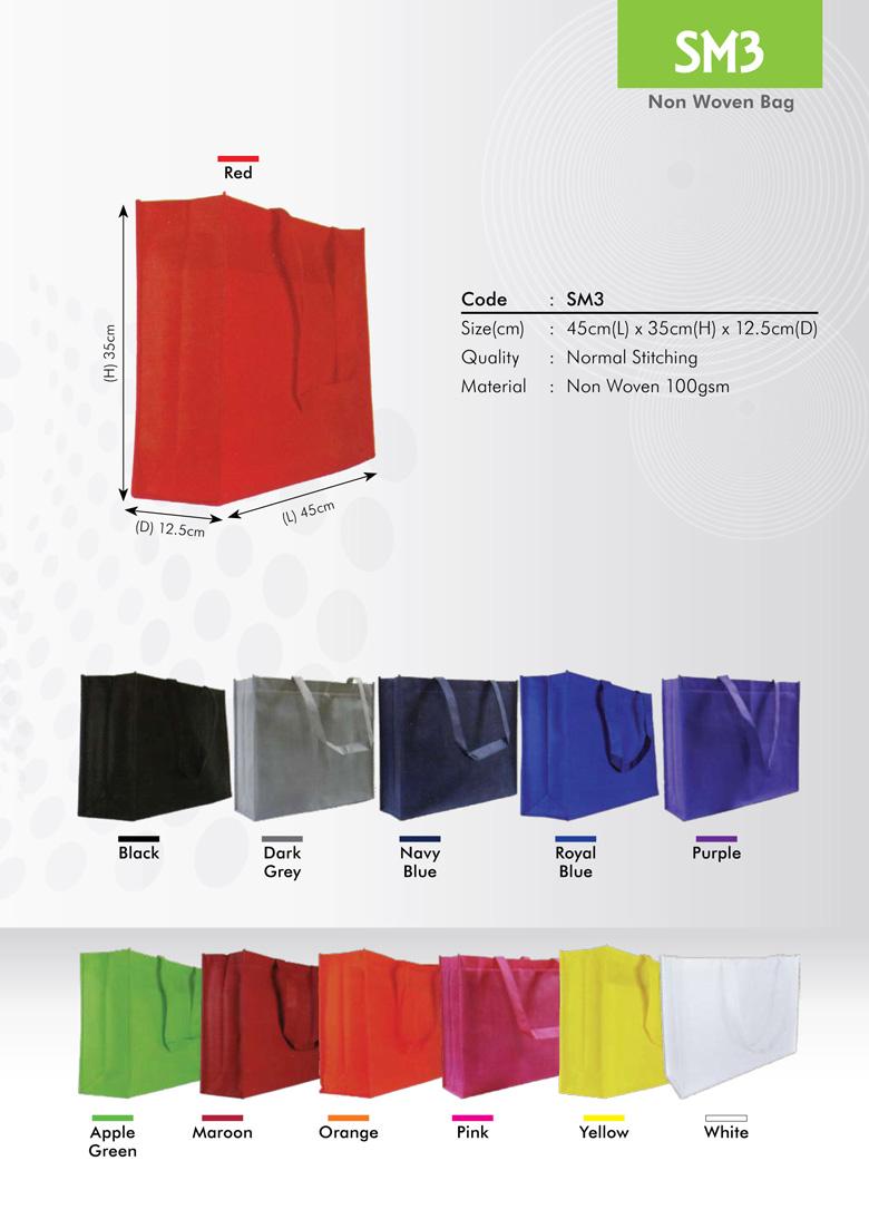 SM3 Non Woven Bag Printing Services