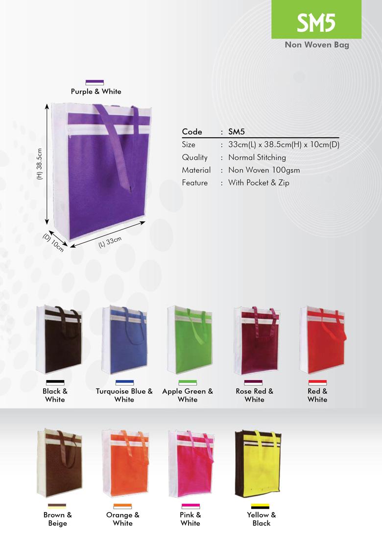 SM5 Non Woven Bag Printing Services