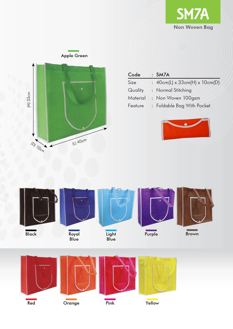 SM7A Non Woven Bag Printing Services