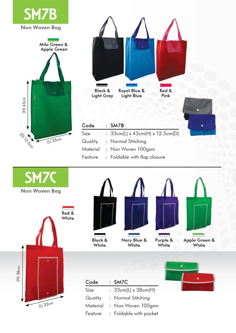 SM7B & SM7C Non Woven Bag Printing Services