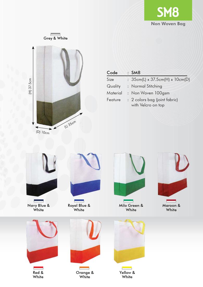 SM8 Non Woven Bag Printing Services
