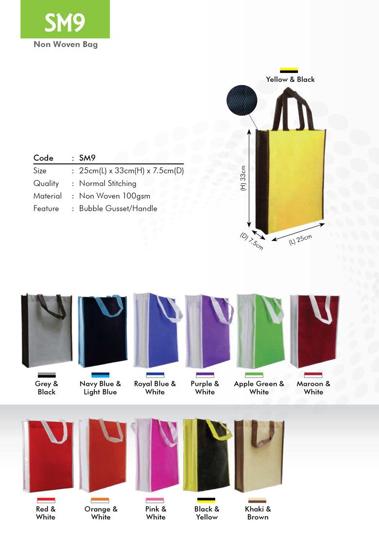 SM9 Non Woven Bag Printing Services