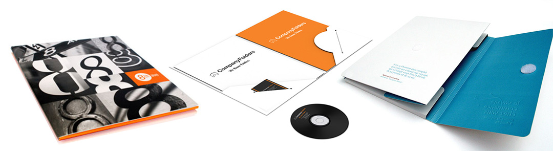 Corporate Folders Printing Services