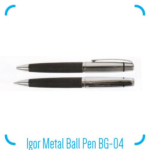 Igor Metal Ball Pen BG-04