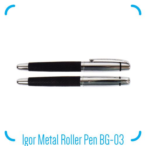 Igor Roller Metal Ball Pen BG-03