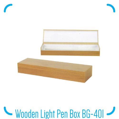 Wooden Light Pen Box BG-401