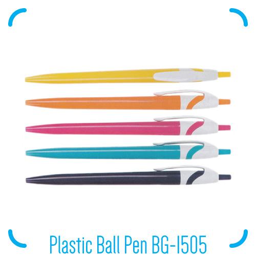 Plastic Ball Pen BG-1505