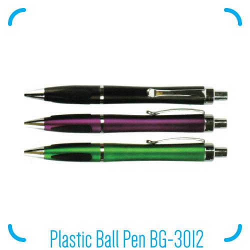 Plastic Ball Pen BG-3012