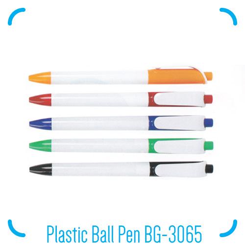 Plastic Ball Pen BG-3065