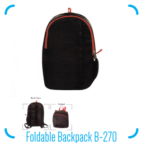 Foldable Backpack B-270
