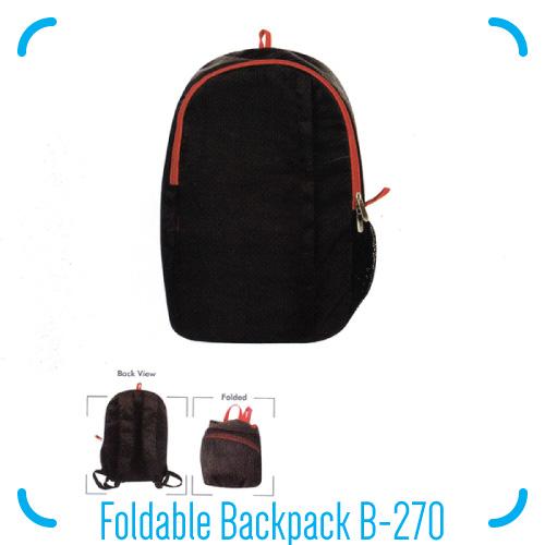 Foldable Backpack B-270