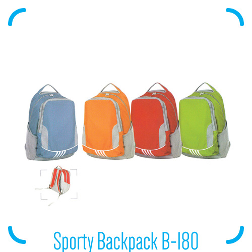 Sporty Backpack B-180