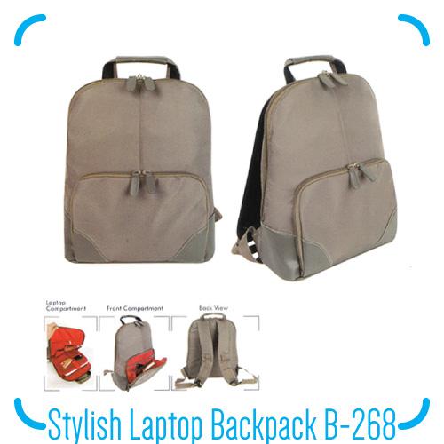 Stylish Laptop Backpack B-268