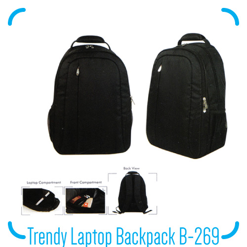 Trendy Laptop Bag B-269
