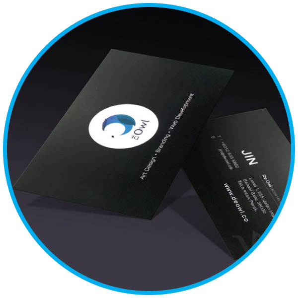 Art Card Business Card Printing Services Malaysia