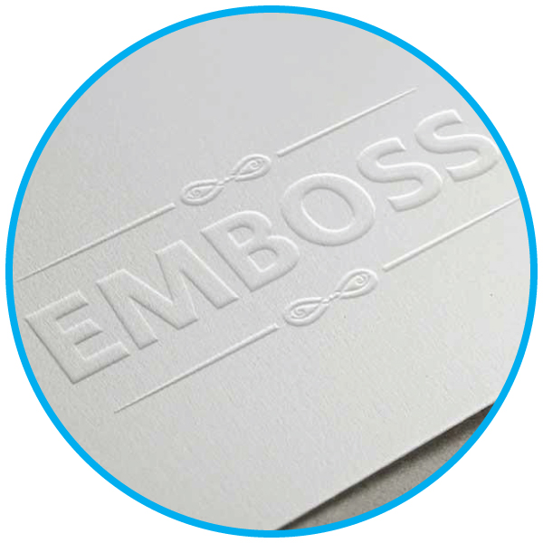 Business Card Emboss Printing Services Malaysia