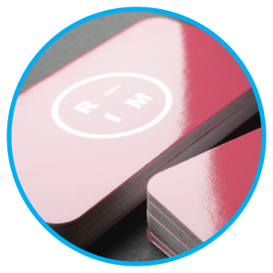 Business Card Gloss Lamination Printing Services