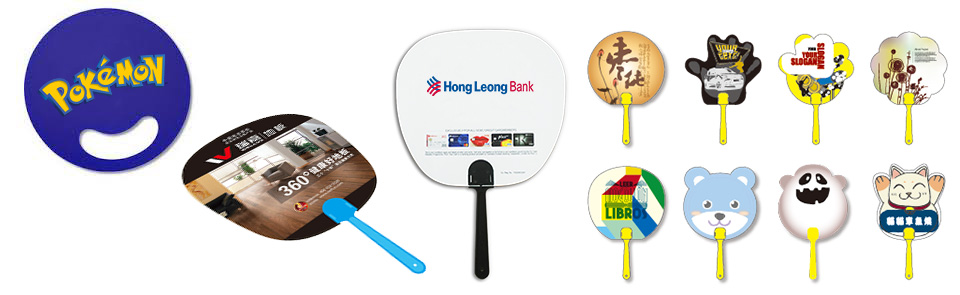 Promotional Hand Fan Print Services Malaysia