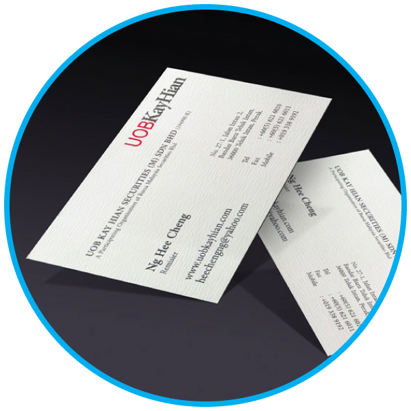 business card name card  book printing services malaysia