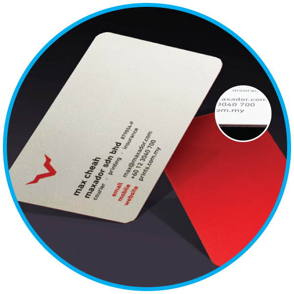 Triplex Card Business Card Printing Services Malaysia