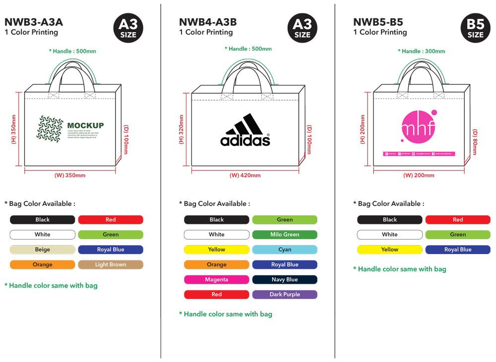 Non-Woven Bag Printing Malaysia Template 02